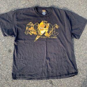 AC/DC Ironman shoot to thrill shirt